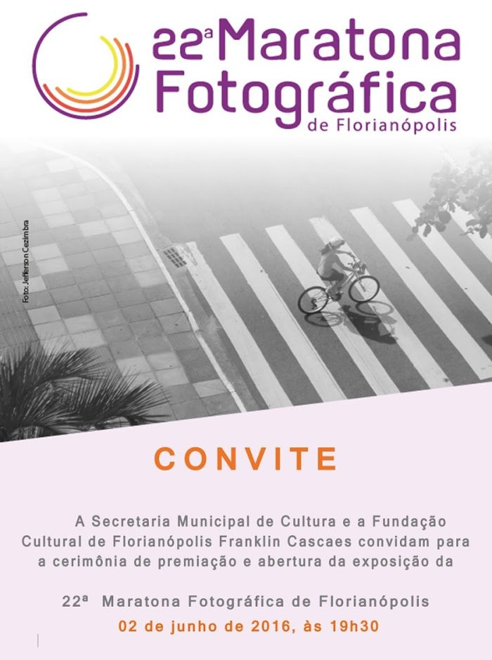 Cerimônia de premiação e exposição da 22ª Maratona Fotográfica de Florianópolis