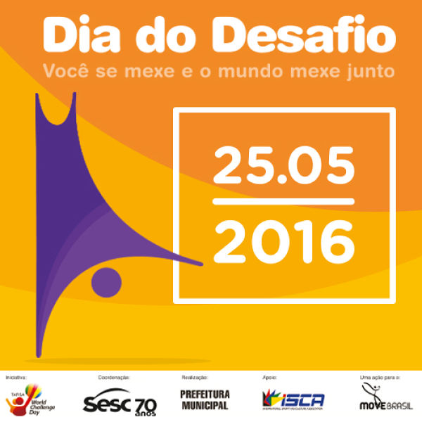 "Dia do Desafio 2016 e ""Workshop Show"" com empresário Jackson Baia"