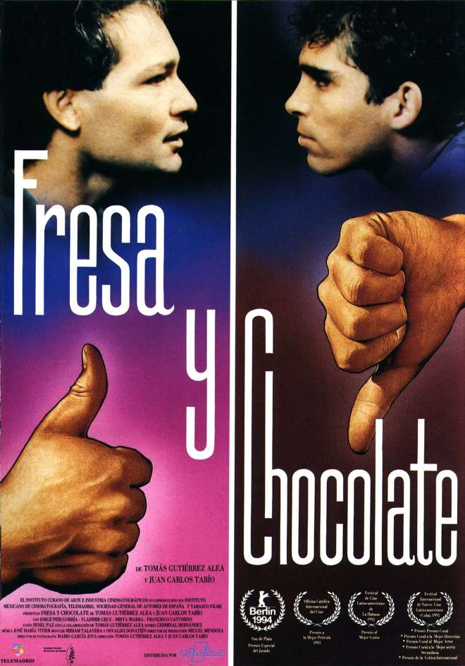 "Circula exibe filme cubano ""Fresa y chocolate"""