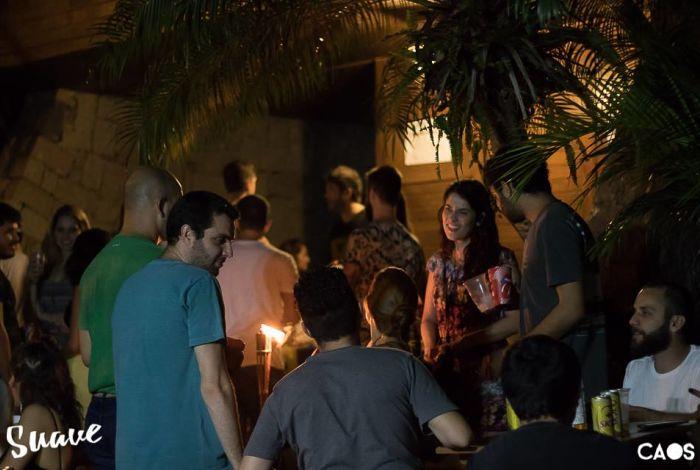 Festa Suave Anarkia Tropical no Rancho do Pescador com música brasileira, latina, reggae e dub
