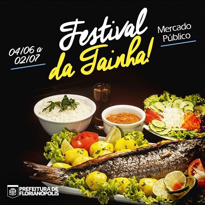 Festival de Tainha no Mercado Público com bons preços e cardápios especiais