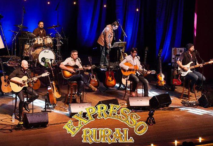"Show de lançamento do DVD ""35 Anos de Rock Rural"" da banda Expresso Rural"