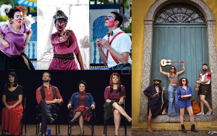 Projeto Bodas de Cristal comemora 15 anos de três grupos teatrais: Persona, Erro e Traço
