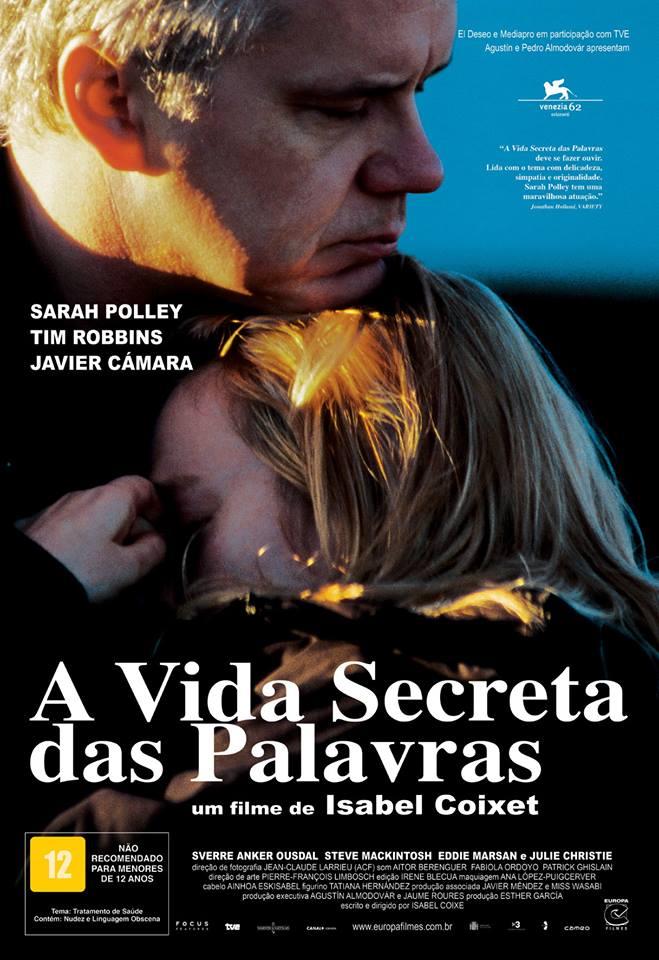 """Cineclube Badesc exibe """"A vida secreta das palavras"""" (2005) de Isabel Coixet"""