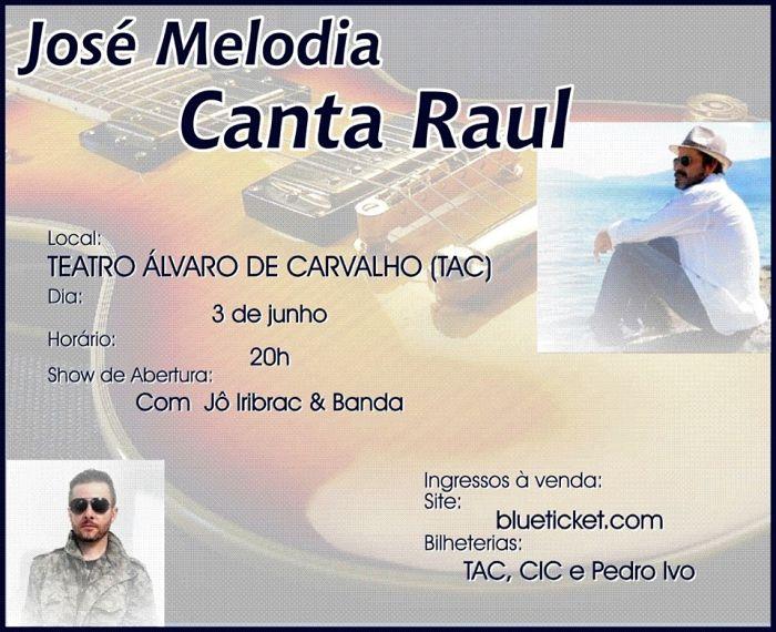 "Lançamento do CD ""José Melodia Canta Raul Seixas"""