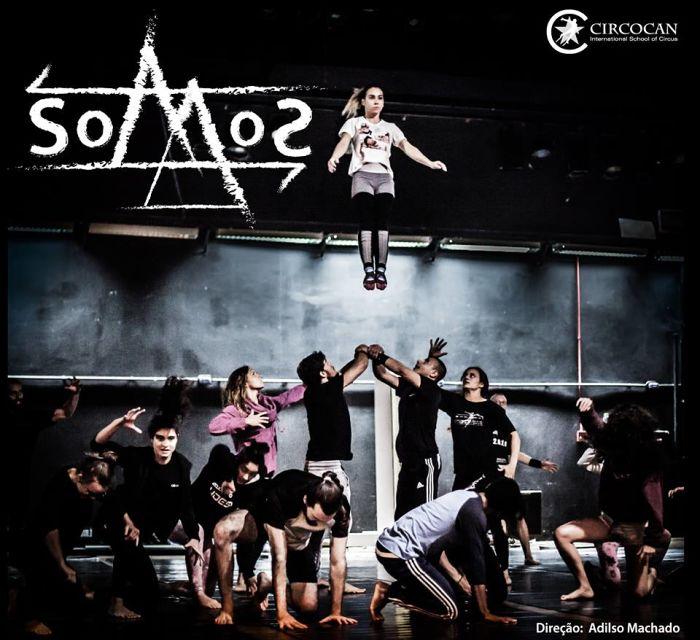 Circocan apresenta espetáculo SOMOS do Grupo de Formação em Circo