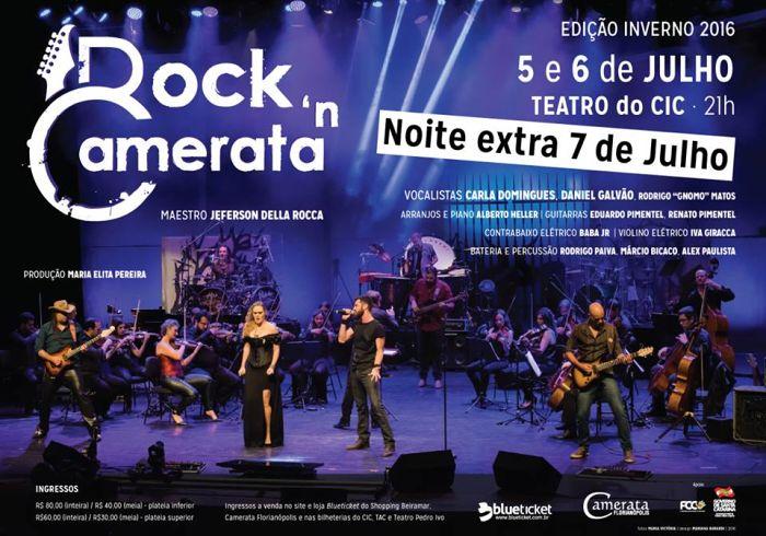 Rock'n Camerata – Edição Inverno 2016