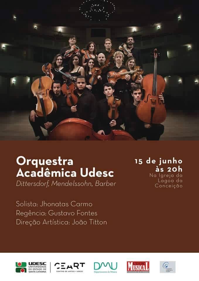 Apresentação gratuita da Orquestra Acadêmica Udesc