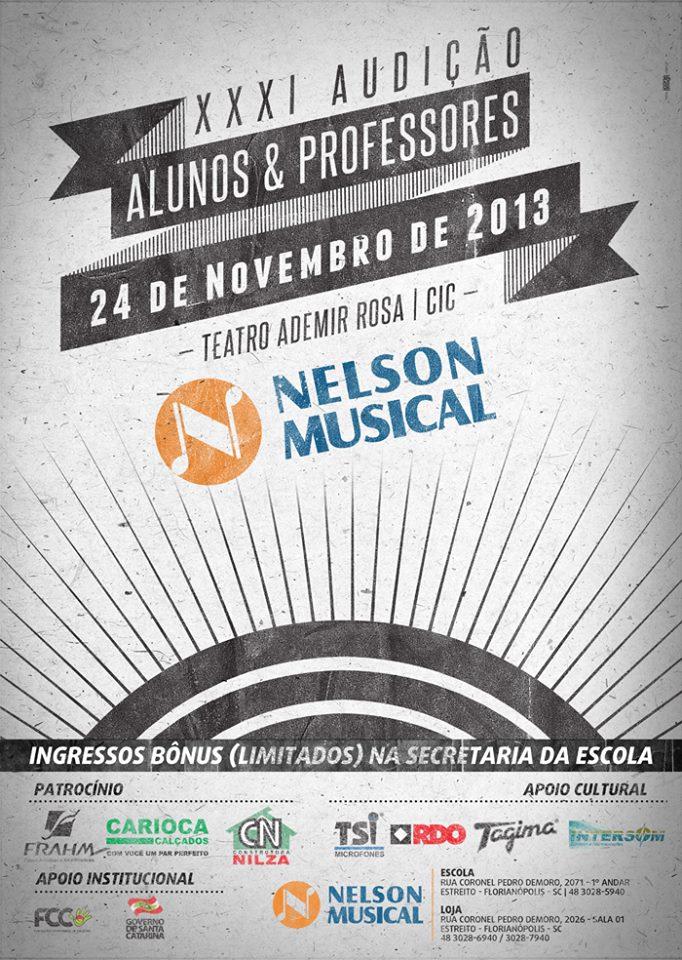 XXXI Audição dos Alunos e Professores da Escola Nelson Musical Center