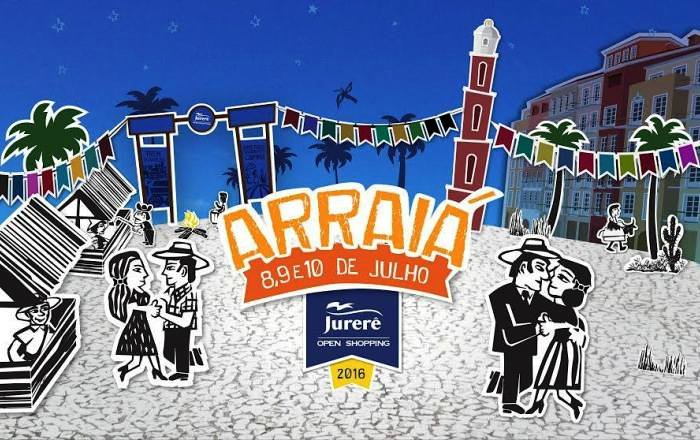 Festa Julina do Jurerê Open Shopping terá shows, food trucks, comidas e brincadeiras típicas