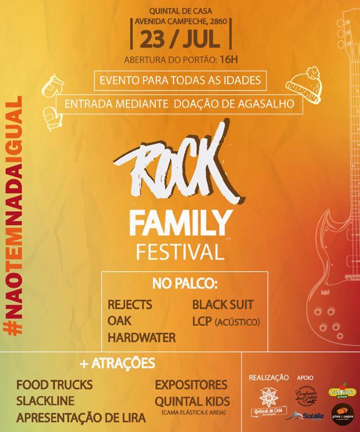1º Rock Family Festival terá 5 bandas, food trucks e atrações para todas as idades