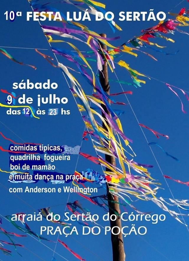 10ª Festa Luá Do Sertão - Arraiá na Praça do Poção