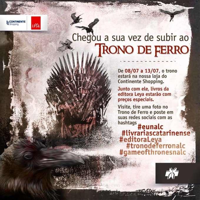 Exposição do Trono de Ferro da série Game of Thrones