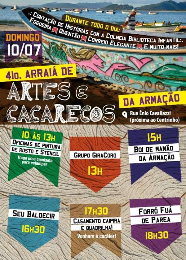 Festa Julina da Feira de Artes e Cacarecos da Armação