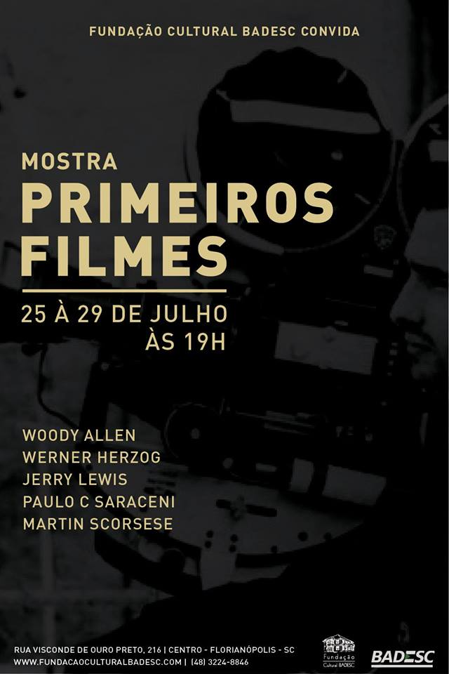 Mostra Primeiros Filmes exibe obras iniciais de Woody Allen e Martin Scorsese