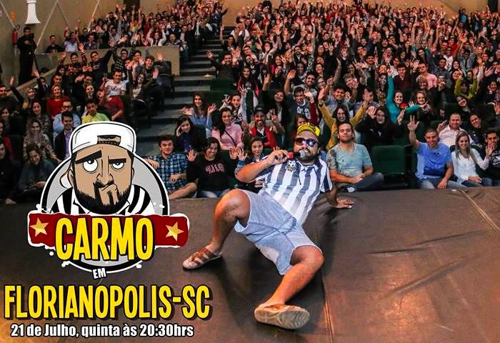 Show Stand Up Comedy e gravação do Carmo Responde