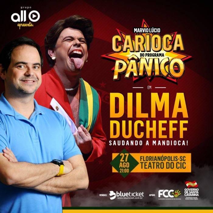 """Carioca do Pânico em """"Dilma Ducheff Saudando a Mandioca"""""""