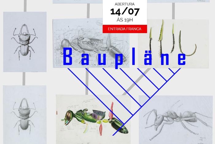 Esposição Baupläne de Leandro Lopes de Souza