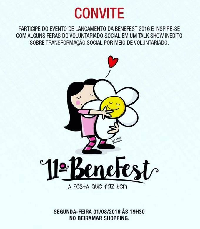 Lançamento oficial da 11ª Benefest – A Festa que Faz Bem