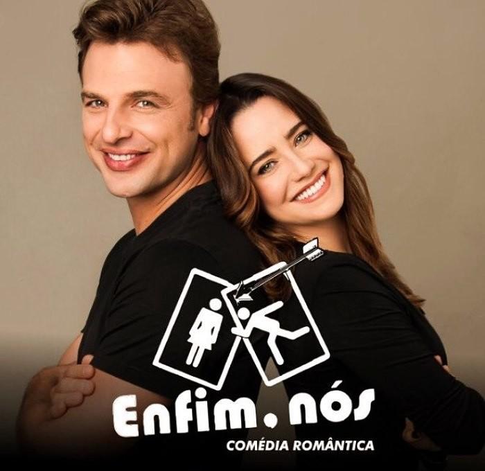 """Comédia romântica """"Enfim, Nós"""" com Cássio Reis e Fernanda Vasconcellos"""