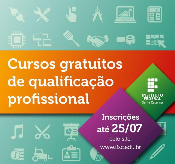 Inscrições para 2.311 vagas em 79 cursos gratuitos de qualificação profissional