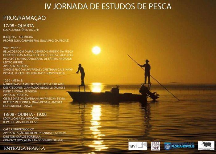 IV Jornada de Estudos da Pesca com Café Antropológico