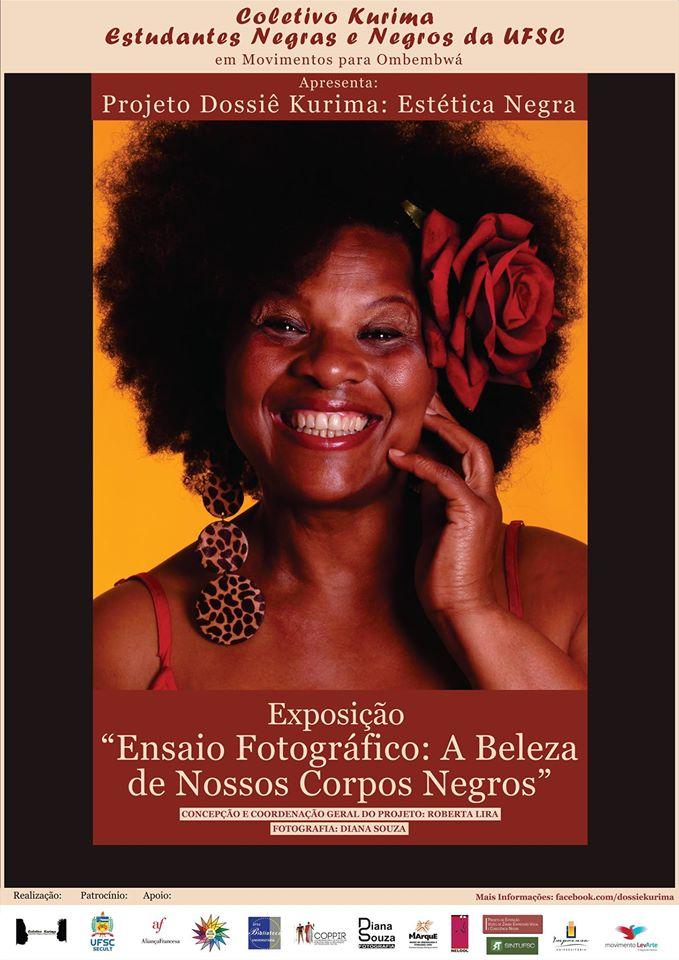 """Exposição """"Ensaio Fotográfico: A Beleza de Nossos Corpos Negros"""""""