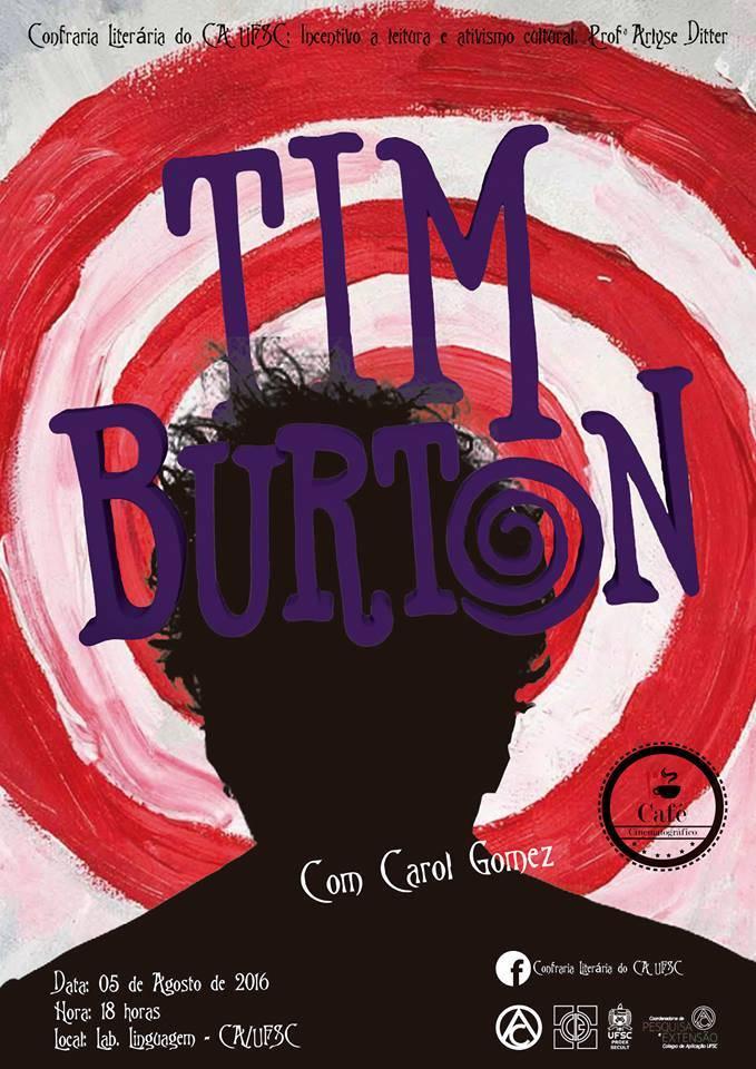 Café Cinematográfico sobre cineasta Tim Burton