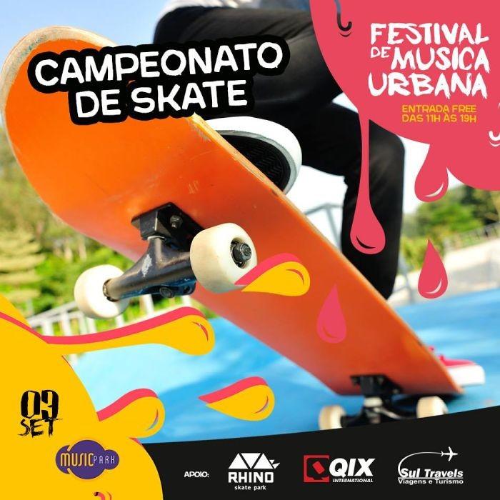 Campeonato de Skate Street no Festival de Música Urbana – FMU