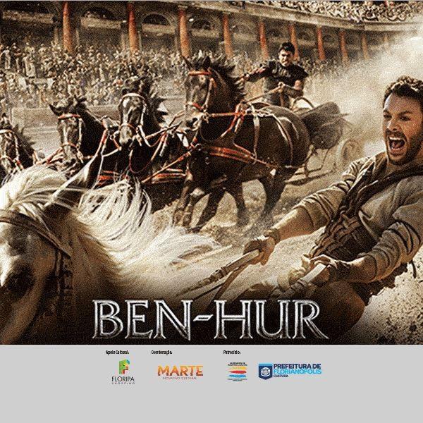 """Nova versão de """"Ben-Hur"""" de graça para idosos na 12ª Sessão Sênior de Cinema"""