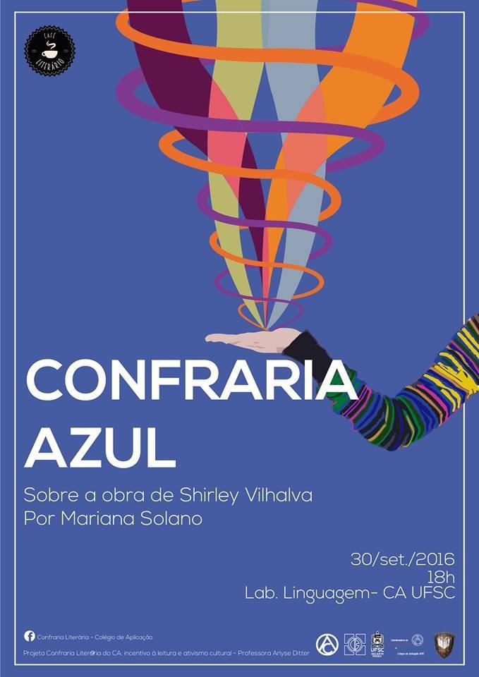 "Confraria Azul sobre a obra ""Despertar do Silêncio"", de Shirley Vilhalva"
