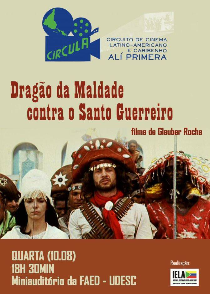 """Circula apresenta """"Dragão da Maldade contra o Santo Guerreiro"""", de Glauber Rocha"""