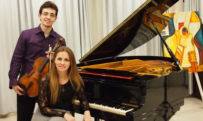 Recital gratuito de piano e viola com Duo Frey-Saggin