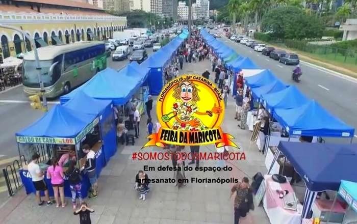 Feira da Maricota na Avenida Paulo Fontes