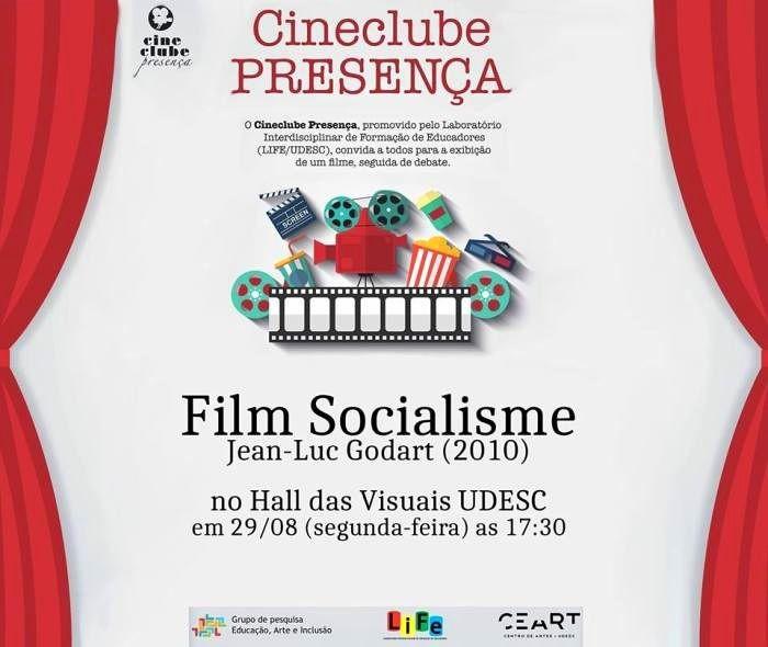"Cineclube Presença exibe ""Film Socialism"" (2010) de Jean-Luc Godart"