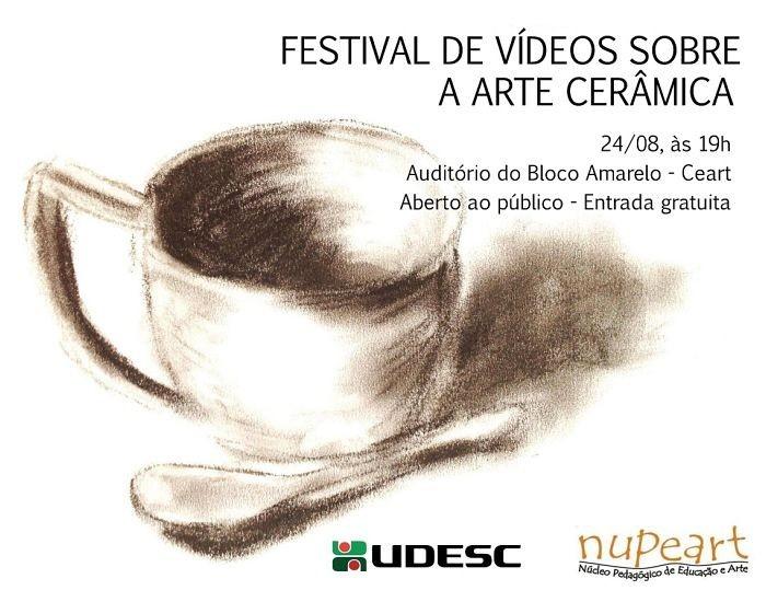 Festival de Vídeos sobre a Arte Cerâmica, gratuito e aberto ao público