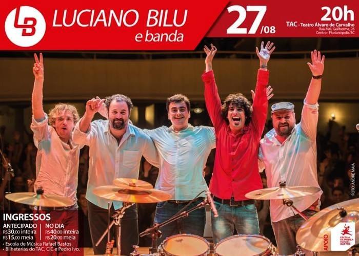 Show Luciano Bilu e Banda