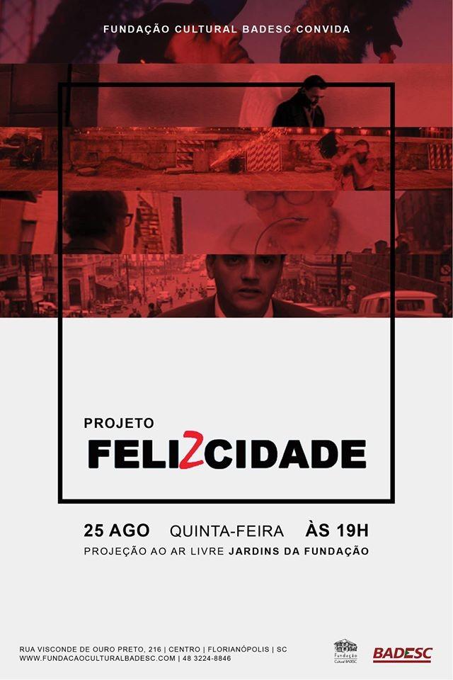 FelizCidade: Mostra de filmes nos jardins da Fundação Cultural Badesc