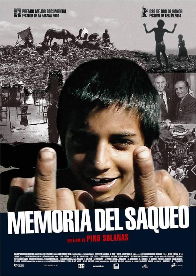 "Circula apresenta filme argentino ""Memoria del Saqueo"" de Pino Solanas - CANCELADO!"
