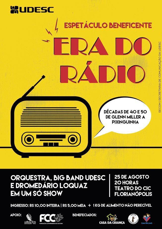 """Espetáculo musical """"Era do Rádio"""" interpreta clássicos das décadas de 40 e 50"""