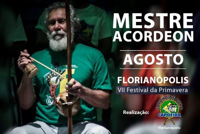 VII Festival da Primavera - Vento Forte com Mestre Acordeon
