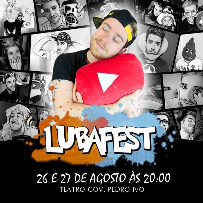 LubaFest com Youtuber Luba