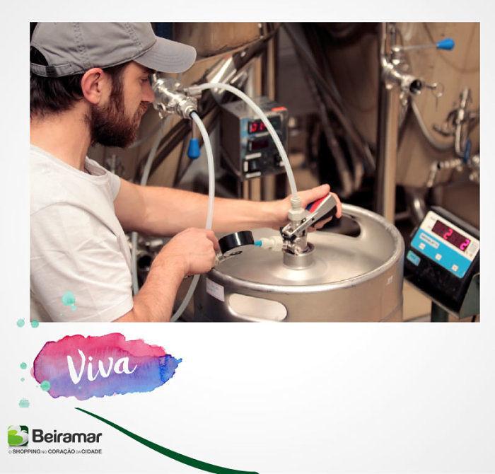 """Exposição sobre cerveja artesanal """"Do Grão ao Growler"""" de Diego Simão Rzatki"""