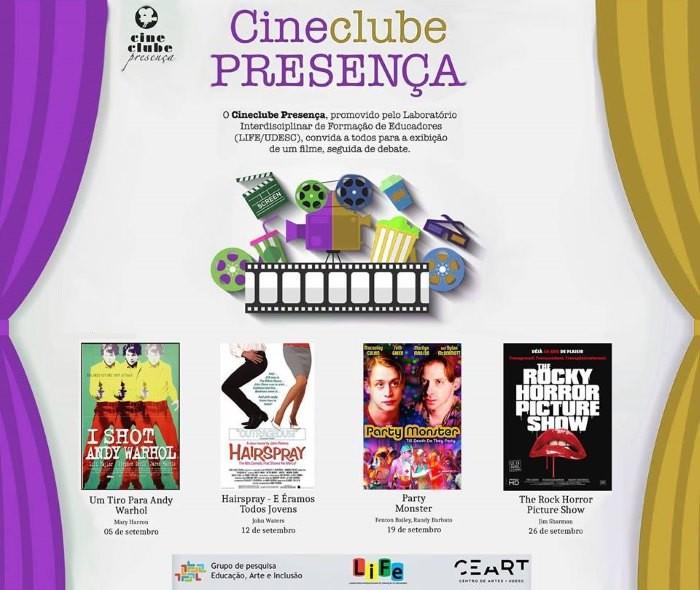 Cineclube Presença exibe filmes que retratam Pop Art americana
