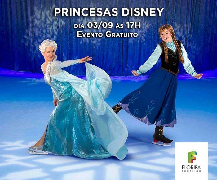 Princesas da Disney patinando no Gelo e show de mágicas, de graça neste fim de semana
