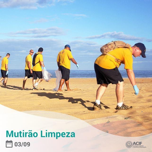 Mutirão de Limpeza Praia dos Ingleses
