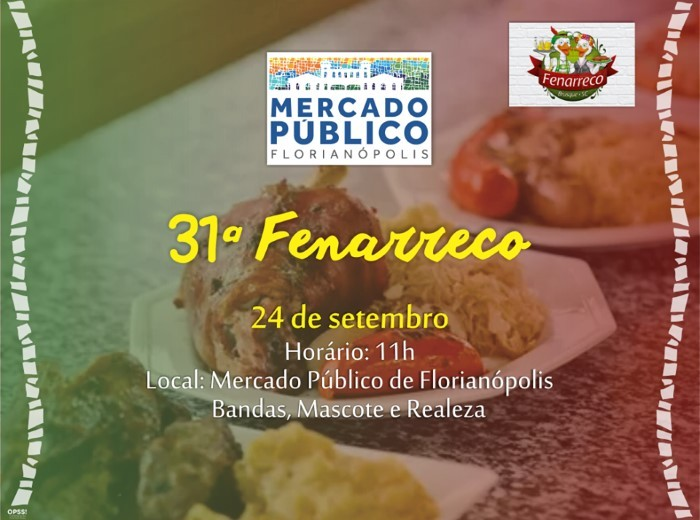 31ª Fenarreco - Festa Nacional do Marreco no Mercado Público