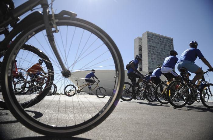 Dia Mundial Sem Carro com passeios ciclísticos
