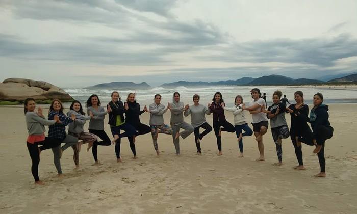 2º Aulão de Yoga e Meditação Mindfulness na praia da Joaquina
