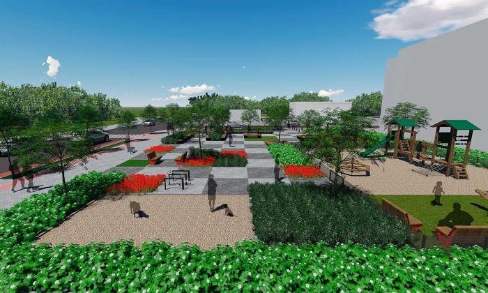 Inauguração da nova praça na Canasvieiras terá música ao vivo, atividades para crianças e pipoca